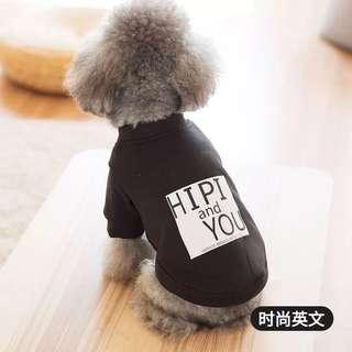 INSTOCK - Pet Dog Small/Med Breed Top/Singlet