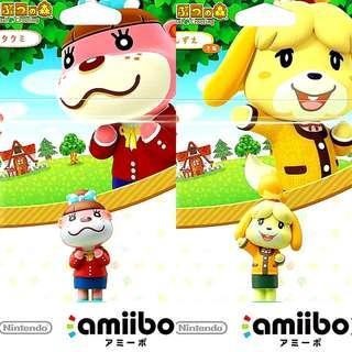 Nintendo Amiibo Lottie, Isabelle Animal Crossing Series Figure MISB