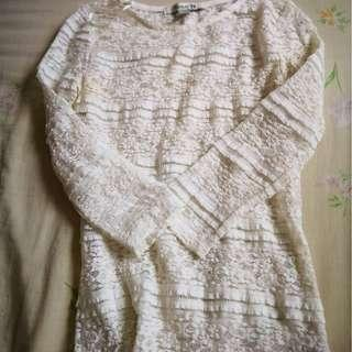 FOREVER 21 Lacey Long Sleeve #PRECNY60