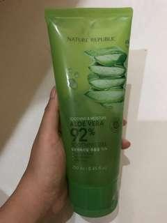 Nature Republic Aloe Vera 92% Soothing Gel Tube Original Store 100%