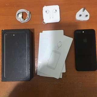 Iphone 7 Plus 128gb Jetblack Ex Inter Singapore Bisa Tt