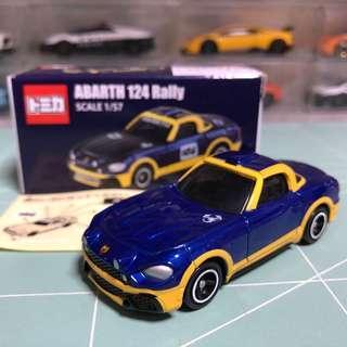 Tomica ABARTH 124 Rally 非賣品
