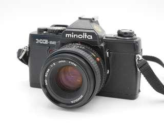 Minolta XG-SE Film SLR + 50mm F2 Prime Lens