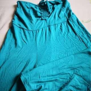 Aqua Color Jumpsuit (over knee) #PRECNY60