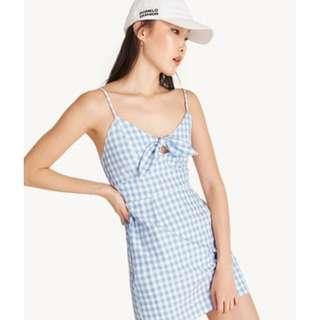 Pomelo Fashion Mini Cami Gingham Dress