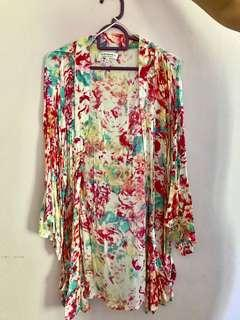 Cotton on kimono cardigan