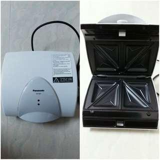 Panasonic 三文治機 全新 熱加壓機 多士爐