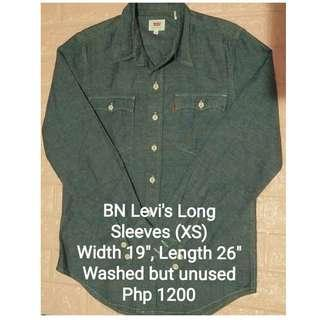 BN Levi's Men's Long Sleeves (XS)