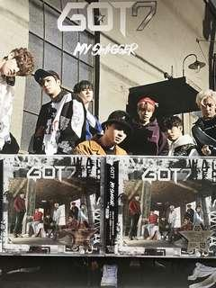 SEALED GOT7 MY SWAGGER ALBUM