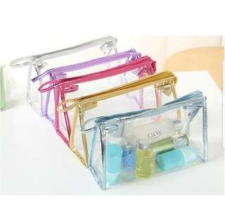🍒⚡Bn clear transparent pouch or travel pouch