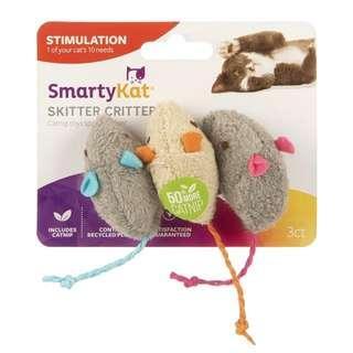 SmartyKat Catnip Cat Toys 貓咪玩具 貓草老鼠 3個裝