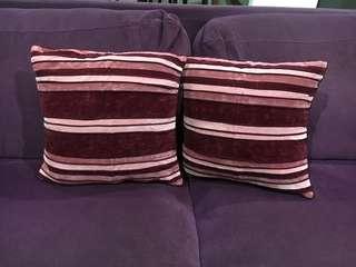 Sarung bantal sofa ukuran 45x45cm
