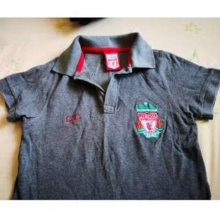 Liverpool Grey Color Shirt #PRECNY60