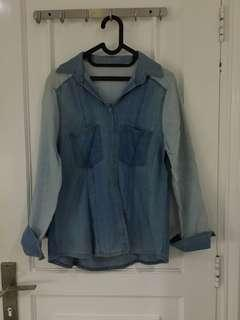 Luaran denim/ denim top jacket