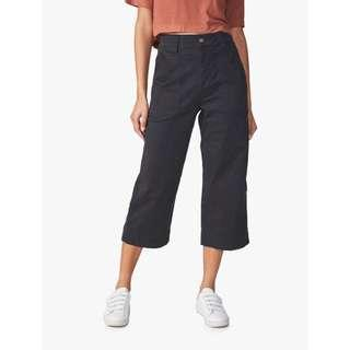 Wide Leg Chop Pants