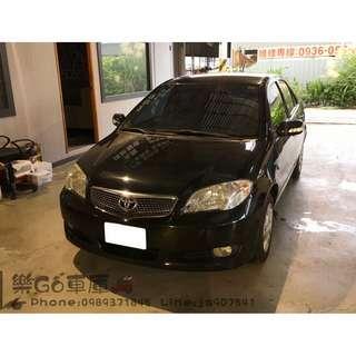 豐田 2009年VIOS黑色J版 1.5