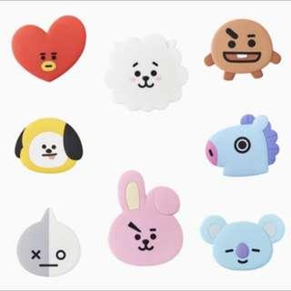 🚚 正版 BT21 鏡子 手鏡 chimmy BTS