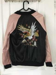 Bomber jacket korean style