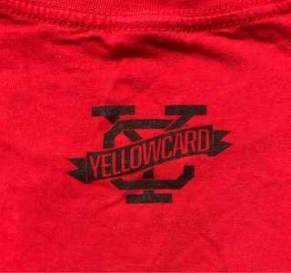 Yellowcard concert tee