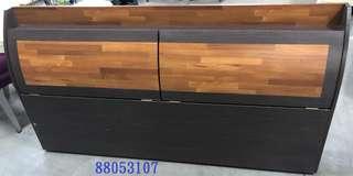 【吉旺二手傢俱】零碼/庫存 集層木床頭箱6尺 床頭片 床台 雙層床 子母床 沙發床-各式新舊/二手家具 生活家電買賣