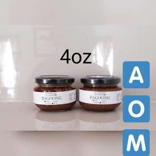 4oz Homemade bagoong