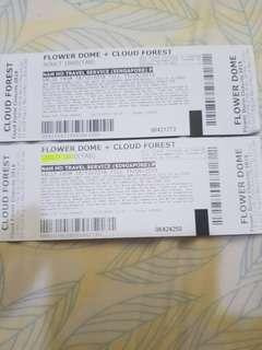 [Physical Tickets] Flower Dome + Cloud Forest