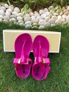 AUTHENTIC Michael by Michael Kors jelly thong sandals in pink