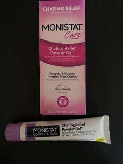 🚚 Monistat Chafing Relief Powder Gel 42 g