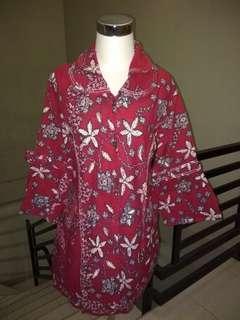 Baju Blouse Preloved Batik