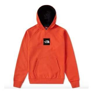 🚚 The North Face Fine Popover Hoodie in Tibetan Orange