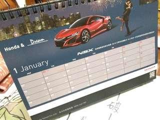 🚚 2019Honda桌曆