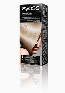 Syoss Permanent Coloration Extra Light Ash Blonde