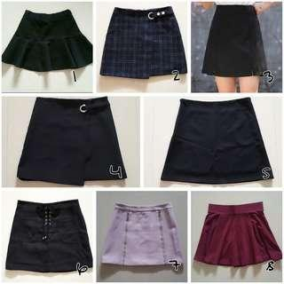 💫S's skirts | REF TO ORIGINAL LISTINGS