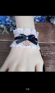 🚚 Lolita 軟妹 髮箍 手袖