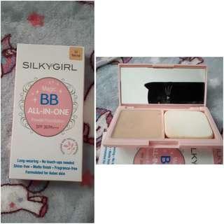 Silkygirl BB all-in-one powder foundation