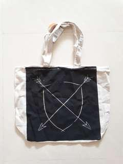 Cotton on canvas tote Bag