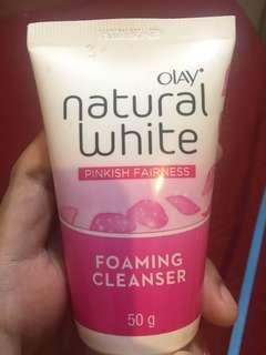 foaming cleanser olay