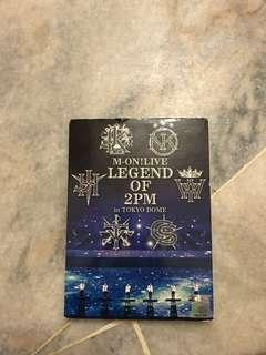 M-ON Live Legend of 2PM