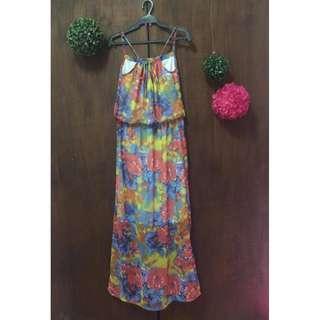 Shape Floral Dress