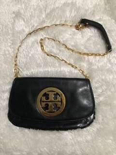 Tory Burch Multi way sling shoulder clutch leather bag