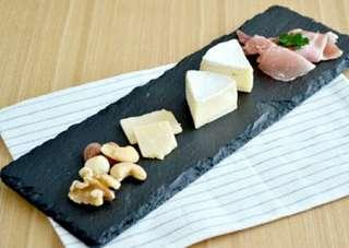 *In stock* Natural slate plate, cheese board, 30cm x 10cm