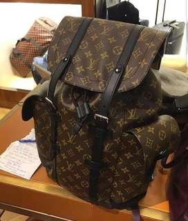 SALE!!! Louis Vuitton Christopher Macassar backpack