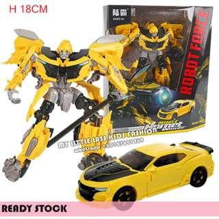 WEI JIANG Transformer Toy The Last Knight Premier Edition Bumblebee Transformer