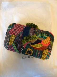 Zara clutch handbag