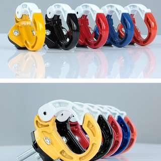 Aluminium Alloy Hanging Bag Front Hook Claw For Xiaomi Mijia M365 / Scooter Lockable Hook