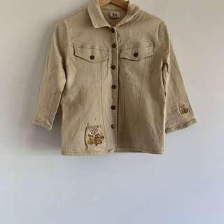 Carmel denim teddy jacket vintage