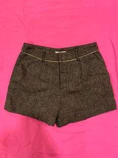 Vintage tweed shorts