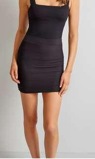 Dark grey kookai bandage skirt
