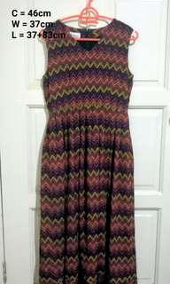 Zigzag Vintage Dress