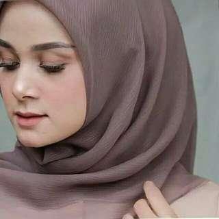 Cornskin hijab Murah!